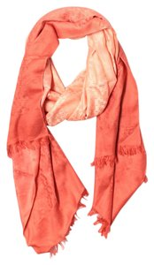 Tory Burch TORY BURCH CORAL WRAP WITH LOGO PRINT