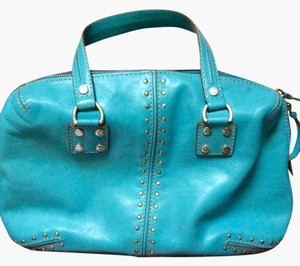 Michael Kors Satchel in Turquoise