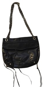 Rebecca Minkoff Navy Silver Hardware Cross Body Bag