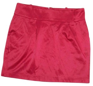 Forever 21 Formal Winter Mini Mini Skirt red