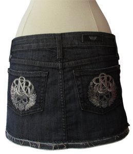 Rock & Republic Mini Skirt Blue