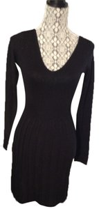 H&M V-neck Empire Waist Knit Dress