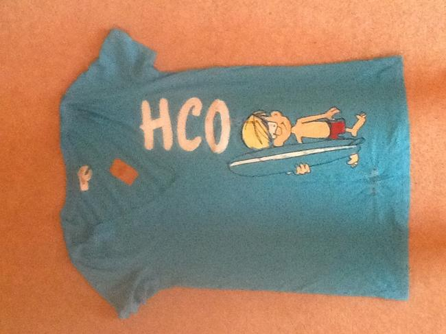 Hollister T Shirt Aqua