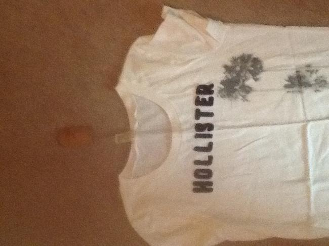 Hollister T Shirt Cream