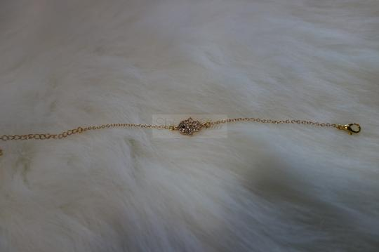 Other Gold Hamsa Bracelet with Knuckle Ring