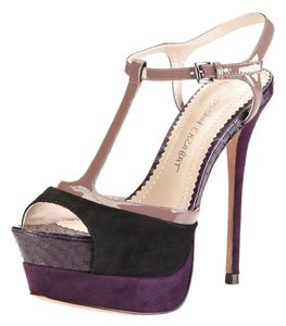Jean-Michel Cazabat Dusty Rose (Black/Purple/Pink) Sandals