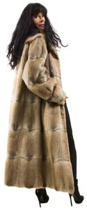 Other River Mink Musquash Muskrat Mink Real Fur Fur Coat