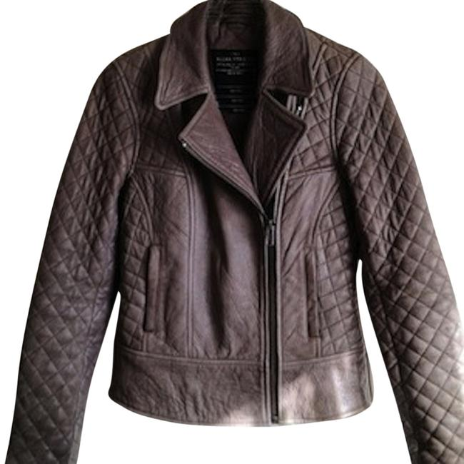 Item - Taupe Quilted Rally Jacket Size 4 (S)