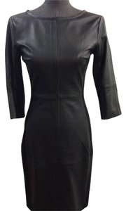 Trina Turk Leather Dress
