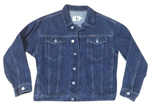Calvin Klein Ck Denim Jean Womens Jean Jacket