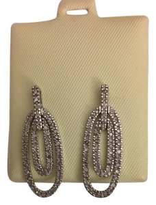 Other 14k White Gold Estate Diamond Earrings