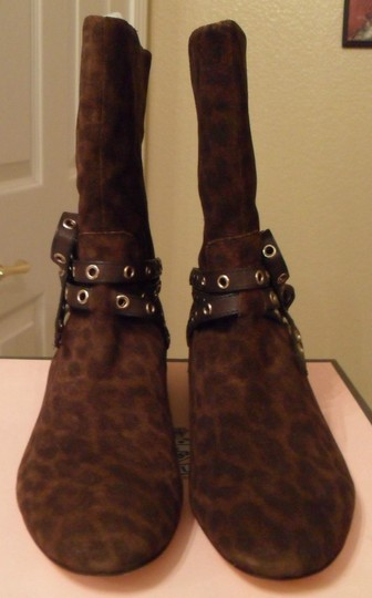 Juicy Couture Laura Suede Brown Boots