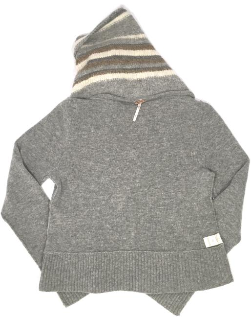 Free People Cold Nights Casual Comfortable Comfort Zip Up Sweater