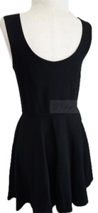 Aqua short dress Black Lbd Classic on Tradesy