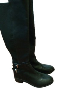 Ivanka Trump Leather Black Boots