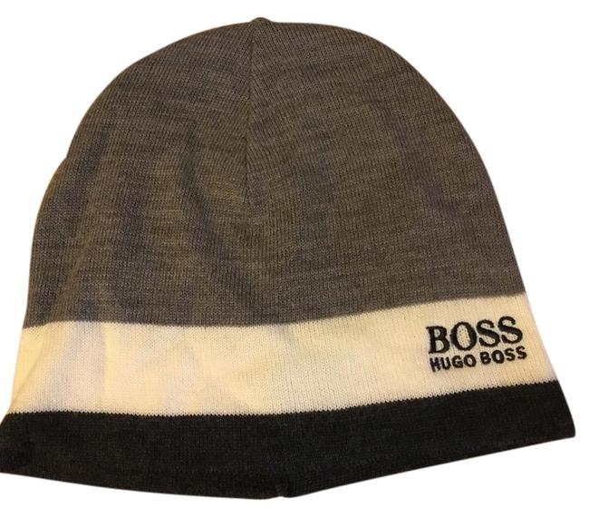 Item - Black Gray White Men's Winter Hat