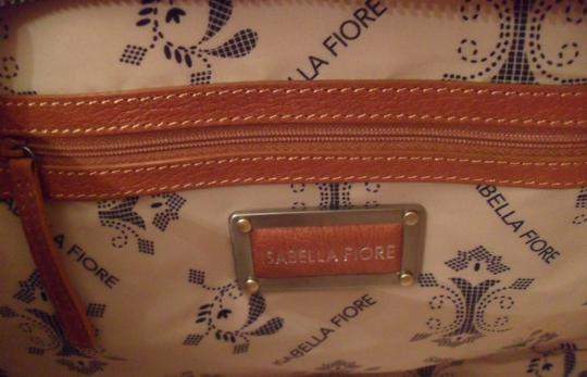 Isabella Fiore Sydney Leather New Handbag Tote in Brown