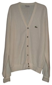Lacoste Button Front Long Sleeve Cardigan