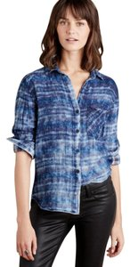 Anthropologie Cloth Stone Shirt Button Down Shirt plaid