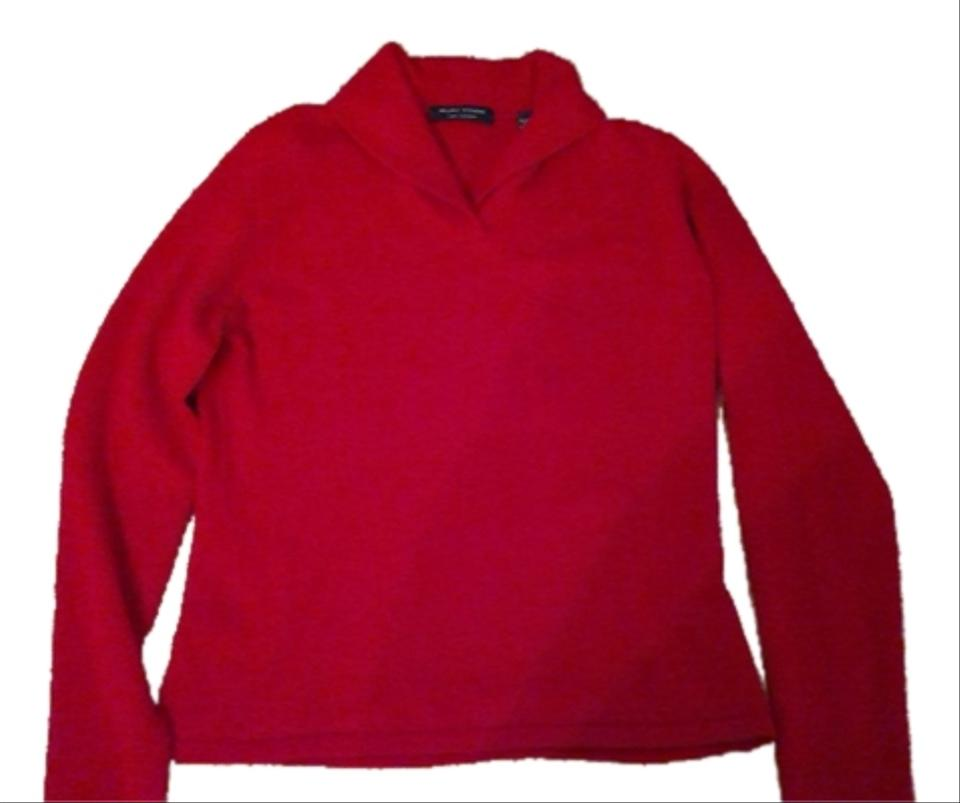 Valerie Stevens Red Cashmere Holiday Sweater Size 8 (M) from ...