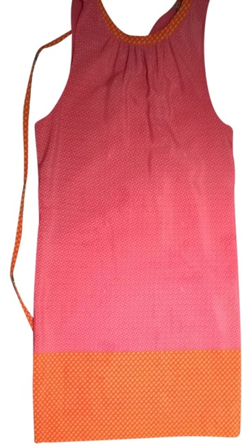 Preload https://item1.tradesy.com/images/juicy-couture-pink-and-orange-bright-fun-girly-classy-stylish-silky-pretty-comfortable-above-knee-co-986145-0-0.jpg?width=400&height=650