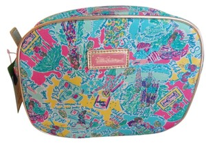 Lilly Pulitzer All Done up Make up Bag In the Beginning Mini