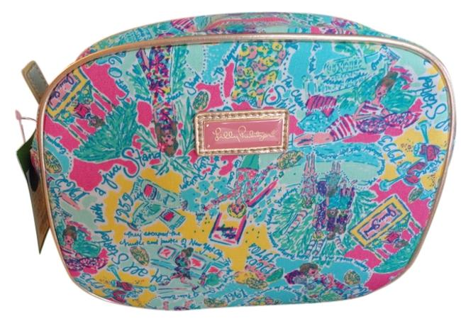 Item - Multicolor All Done Up Make Up In The Beginning Mini Cosmetic Bag
