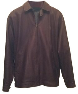 Polo Ralph Lauren Chocolate Leather Jacket