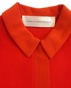 Victoria Beckham short dress Red / Orange on Tradesy