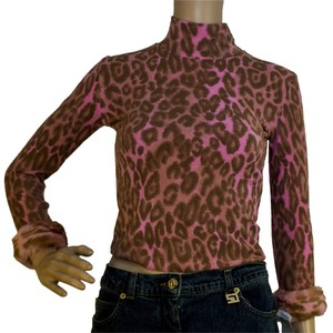 Blugirl Top pinkk / brown