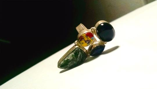 Other Gemstone Ring Size 7.5 Sterling Silver A172