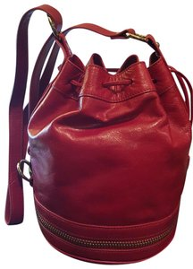 Via Spiga Leather Cross Body Bag