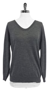3.1 Phillip Lim Grey Blush Sequin Wool Sweater