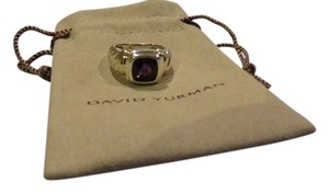 David Yurman David Yurman Noblesse Collection - Petite Noblesse SS/14k Amethyst Ring; Size 6