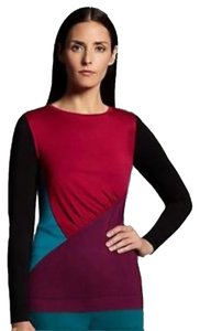 Narciso Rodriguez Colorblock Narcisco Top Multi