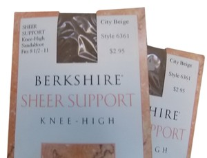 Berkshire Sandalfoot Ultra Sheer Knee Highs