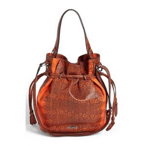 Rebecca Minkoff Leather Bucket Python Ways To Wear Shoulder Bag