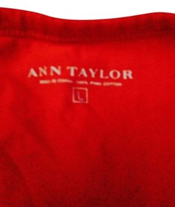 Ann Taylor T Shirt Orange