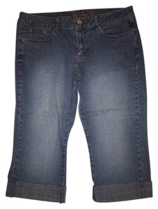 Arizona Jeans Company Capris Blue Denim