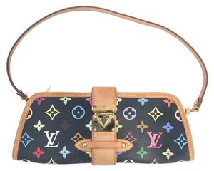 Louis Vuitton Murakami Black Multi Clutch