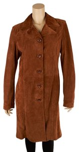Dolce&Gabbana Button Closure Suede Trench Coat