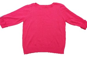 Karen Scott Coral Sweater