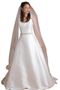 Edward Berger Edward Berger Cathedral Style Veil edged with Beads and Swarovski Crystals