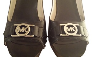Michael Kors Mk Black Platforms