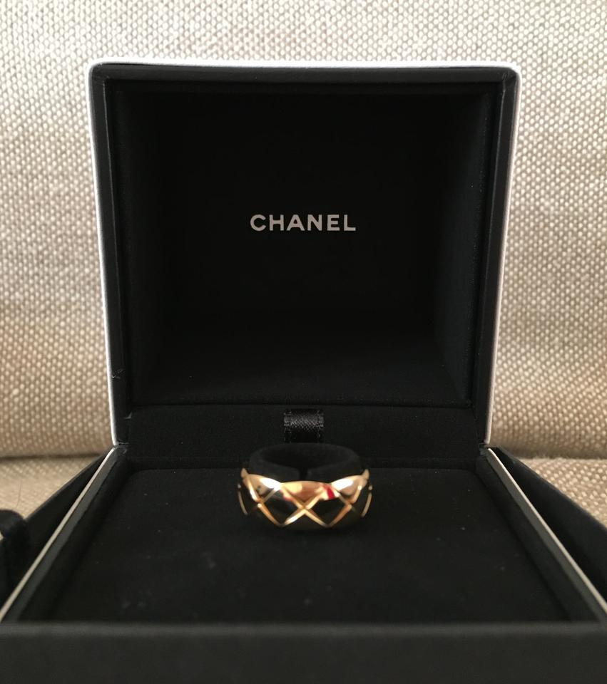 Chanel Chanel Coco Crush 18k Yellow Gold Small Ring Size 49