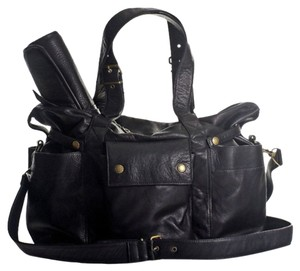 Not Rational Black Lux Diaper Bag