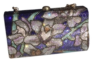 Judith Leiber Lilac Ombre Clutch