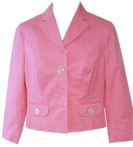 The Limited Crop Pink Jacket