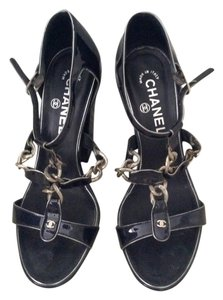 Chanel Dark blue Sandals