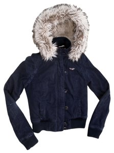 Hollister Junior Fur Hood Warm Military Jacket